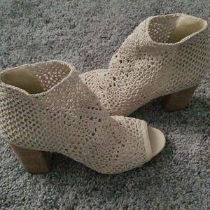Brand new Jessica Simpson Peep toe Bootie. Size 9